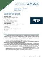 Historia Clinico-laboral (Revista Medicina y Seguridad en El Trabajo)