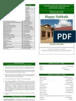 14 Jan Bulletin
