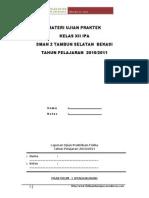 Materi Ujian Praktek Fisika Sma