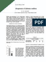 Pa Tho Genesis of Diabetes Mellitus