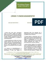 CRISIS Y ENDEUDAMIENTO - CRISIS AND INDEBTEDNESS (Spanish) - KRISIALDIA ETA ZORPETZEA (Espainieraz)