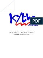 Kythe YES Report 2011-2012
