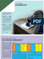 Photography for Calendar for Twaweza