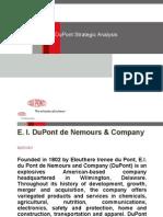 DuPont Strategic Analysis