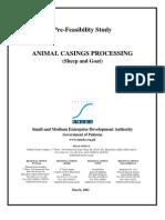 SMEDA Animal Casings Processing Unit