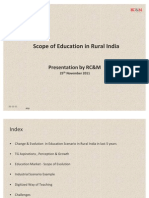 Education Market Study