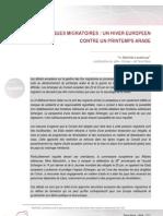 110623 - Politiques migratoires - un hiver européen contre un printemps arabe - Mathilde Lanathoua_0