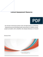 Final Clinical Assessment Guide January 2011