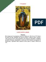 A vocação de Santo Antão