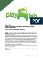 PlayLab2. Interviniendo los Sistemas de la Economía Global