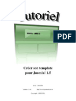 Creer Son Template Joomla 1.5 by CEd