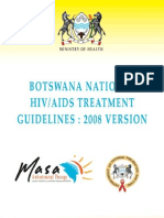 Botswana National Hiv Aids Treatment Guidelines