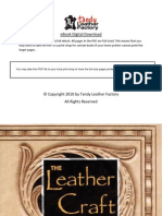 6009 00 the Leather Craft Handbook by Tony Laier & Kay Laier