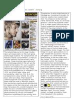 Magazine Content Analysis