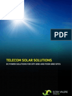 Telecom Solar Power 8pages 1mb PDF