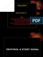 Protokol & Etiket Sosial