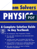 Rea's Problem Solvers Physics