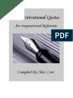 Mot Quotes Book