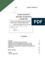 Carte gramatica Mihailescu