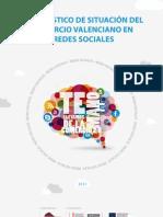 Diagnóstico de situación del comercio valenciano en redes sociales. Año 2011