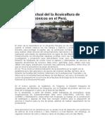 Acucicultura en La Amazonia