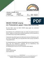 1999-12_NEUES FORUM Leipzig_Plakataktion gegen Video-Ueberwachung