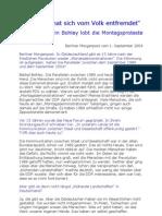 2004-09 Baerbel Bohley - Interview zum Protest gegen Sozialabbau