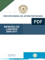 Memoria de Labores 2008-2011