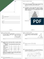 ЕГЭ-2012. Математика. Диагност. работа 1 (27_09_2011) Вар-т 9-12, без логарифмов (с ответами)