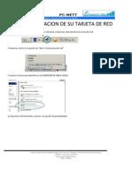 Tutorial de Configuracion de La Tarjeta de Red