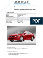 Honda Accord Coupe 3.5 v6-Ex-l v-6