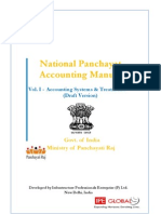 Draft Accounting Manual for Panchayati Raj
