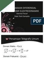 Persamaan Telegrafis Pada Medan