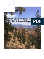 2011 Utah Air Quality Annual Report