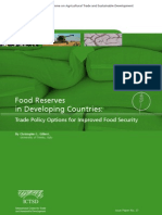 Food Reserves in Developing Countries