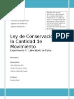 Informe Concervacion de La Cant de Mov
