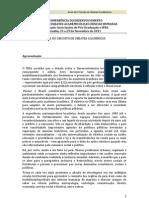 Anais do I Circuito de Debates Acadêmicos - Sumário - II CODE/Ipea - 2011