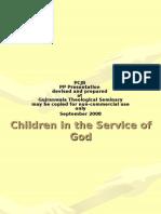 What Genesis Teaches - 1.5 Children 30Fr
