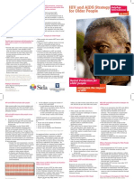 HIV and AIDS strategy for older people