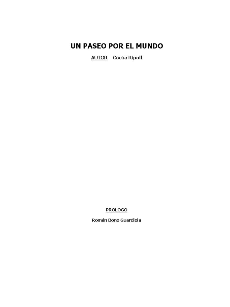 Un Paseo Por El Mundo 8d601018f9e