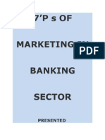 7'P s of Banking in Marketing