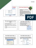 Excel 2007- Pivot Tables (1)