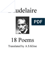 4966140 Charles Baudelaire18 Poems