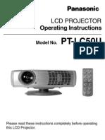 Projector Panasonic PT-LC50U