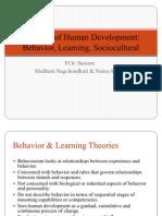 Behavior Learning Theories