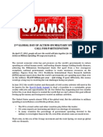 GDAMS 2 Call to Action