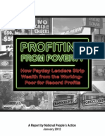 Profiting from Poverty