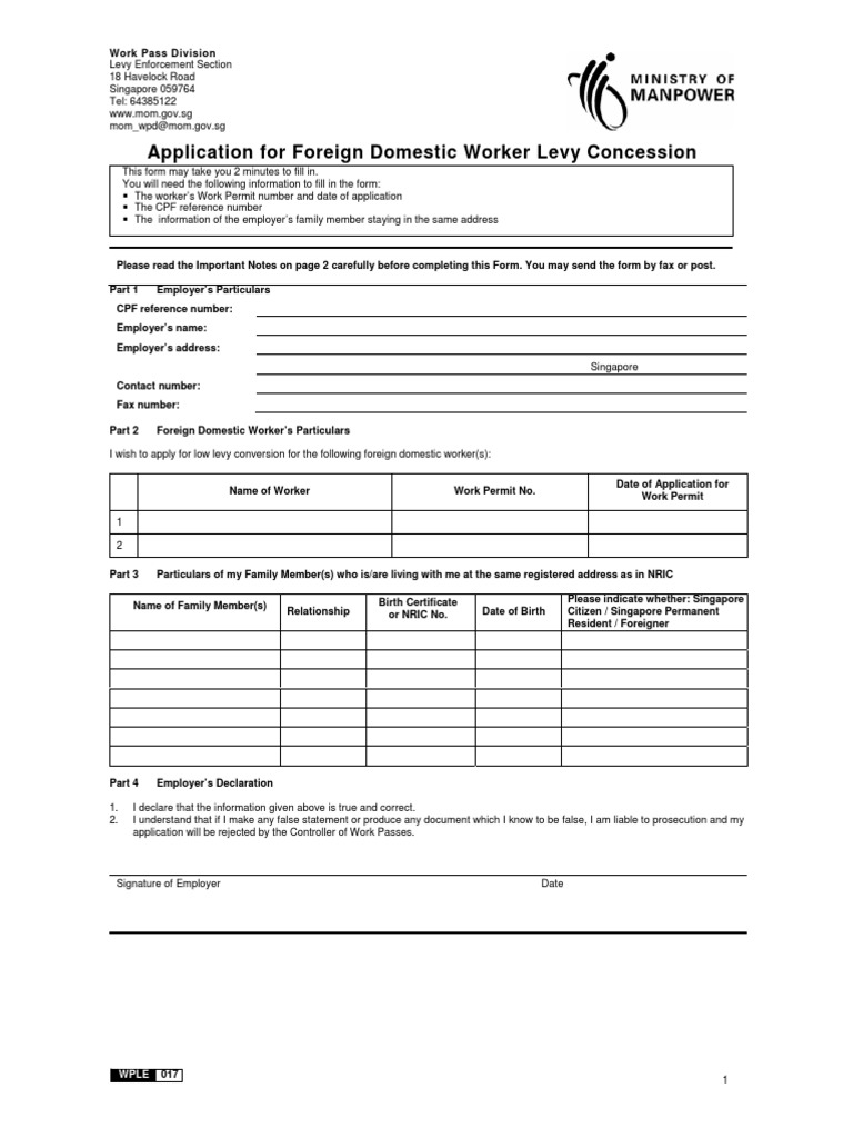 Appln for fdw levy concession permanent residence united states appln for fdw levy concession permanent residence united states birth certificate aiddatafo Image collections