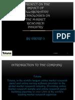 Presentation on market research- Toluna
