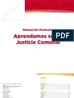 Apr End Amos Sobre Justicia Comunal, Manual Del Promotor